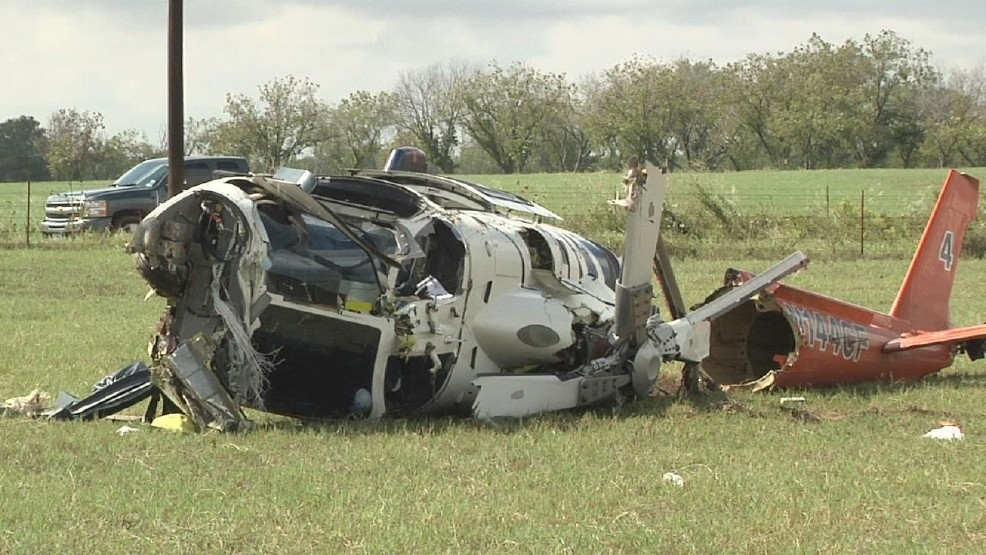 UPDATE: CareFlite Helicopter crashes in Eastland County, 3