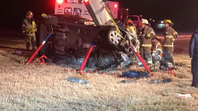 1 killed in wrong-way crash on westbound I-20 at Buck Creek