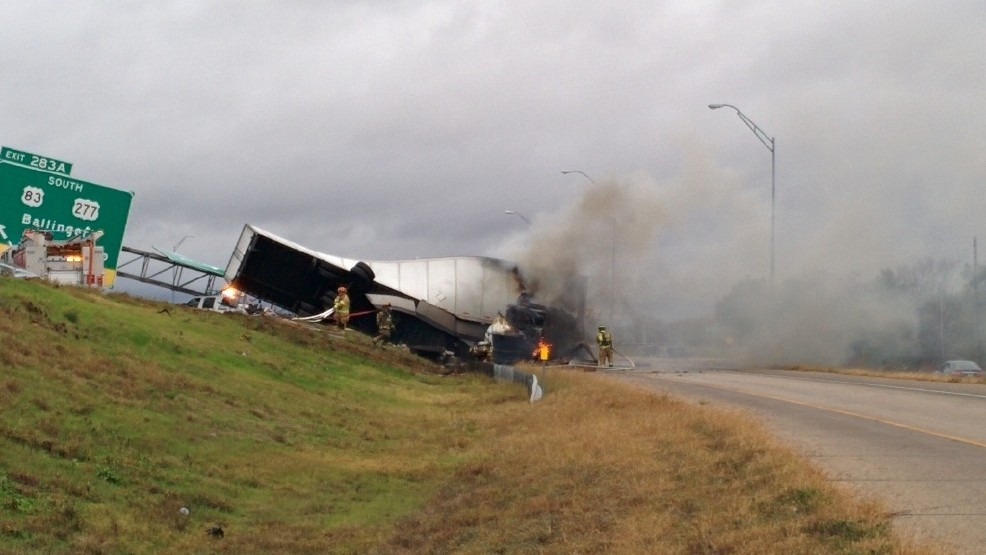 Multi-vehicle accident diverts traffic from I-20 in Abilene