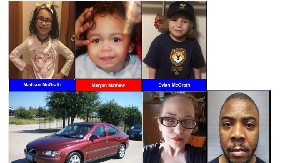 Amber Alert For 3 Texas Children Believed To Be In Grave Danger Continues Into 7th Day Ktxs