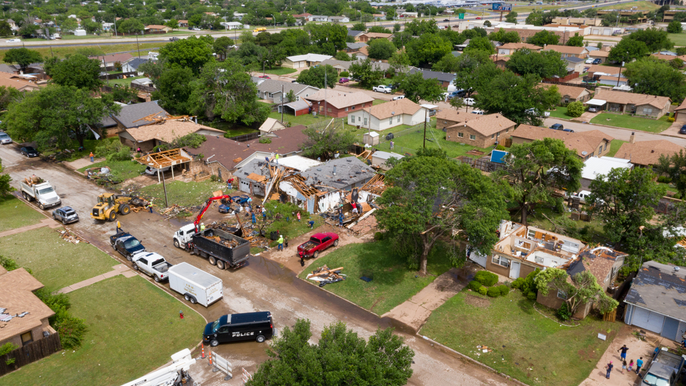 National Weather Service confirms tornado hit south Abilene, at